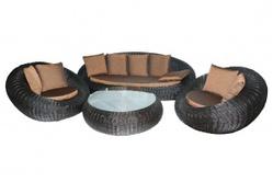Комплект плетеной мебели Киви
